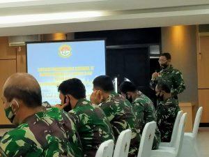 Peserta acara pembukaan Taklimat Awal di Mako Lantamal IV